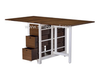 Wooden folding table, butterfly table, gateleg table for dining/ breakfast/ study