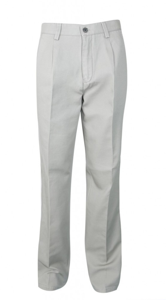 OEM Breathable Polyester Spandex Khaki Golf Trousers