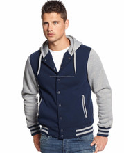 Custom College Style /Wool Girls Baseball Varsity Jacket American Pattern Hoody Ladies Jackets with Hood