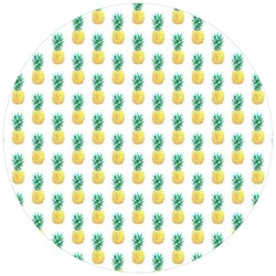 Pineapple Roundie Yoga Mat Wall Hanging ,beach blanket ,hippie round