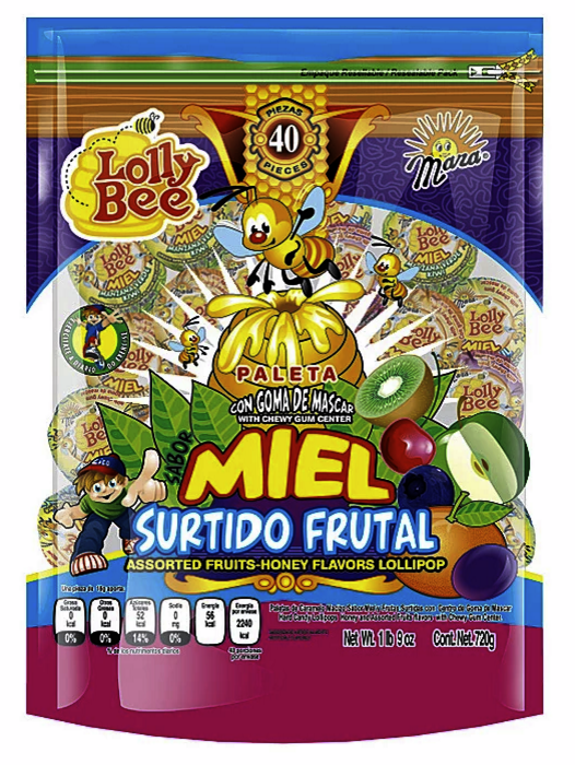 Mara Candy Lollipop Packaging