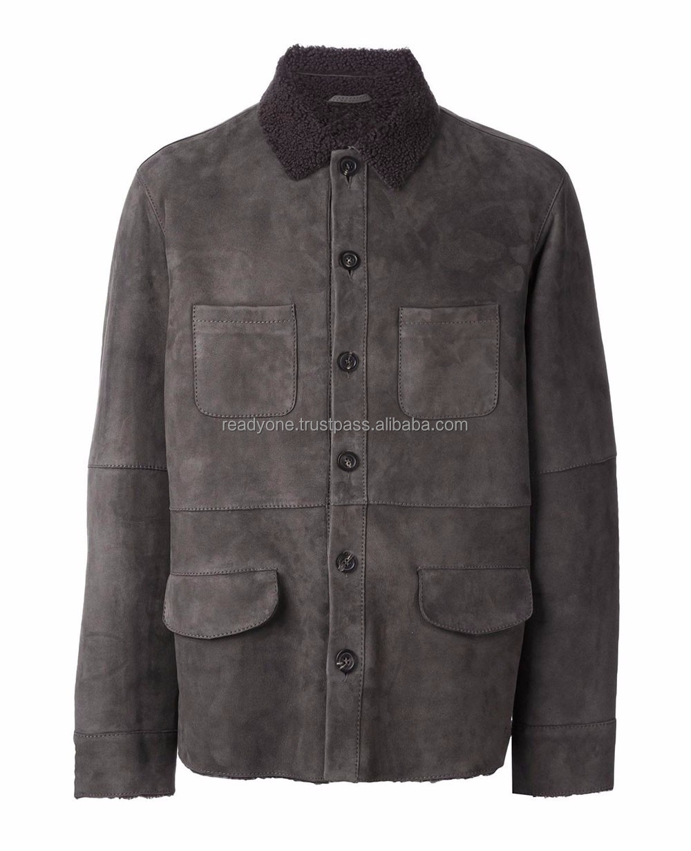 Battery Heated Waterproof Men's Suede Leather Jackets Prices In Pakistan