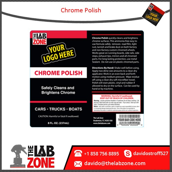 Best Quality Motorcycle Care Chrome Polish Available in Customized Colors and Sizes