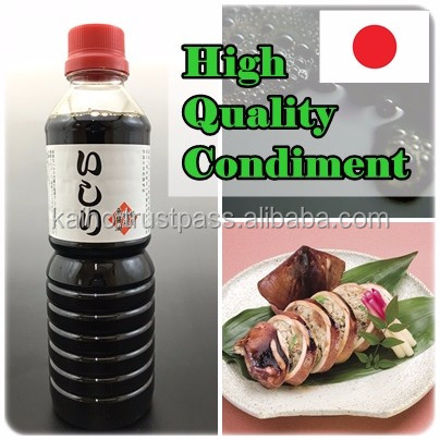 ISHIRI premium fish sauce Japanese Nam pla high quality high grade food relishing