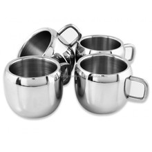 Stainless Steel Apple Shaped Tea Cup
