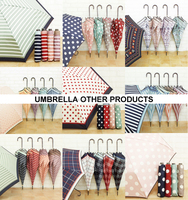 Japanese quality water-repellent rainproof umbrella , various design available