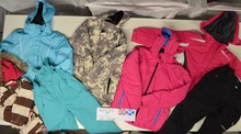 Winter Children Ski Clothes Mix