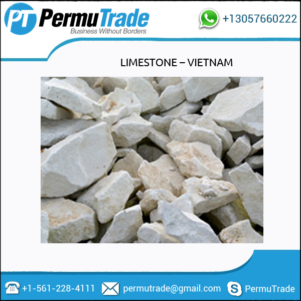 High Grade Best Price Limestone for Cement from Vietnam