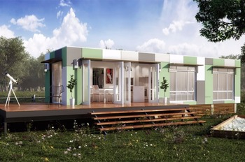 MODERN SINGLE CONTAINER HOUSES MD-420