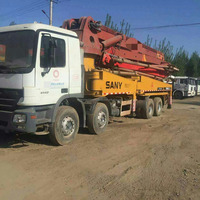 Hot Sell Used Mini Concrete Pump Truck