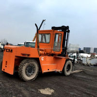 Japan Used 11 ton TCM diesel forklift with BV certification