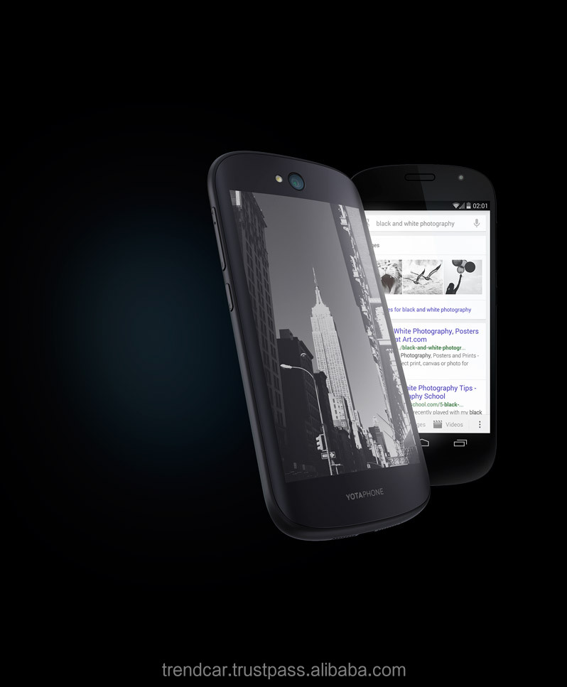 YotaPhone 2 world's first dual-screen smartphone on Android 4.4 system