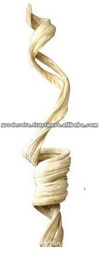 Metal Stand Twisted Wood Sculpture for Sale