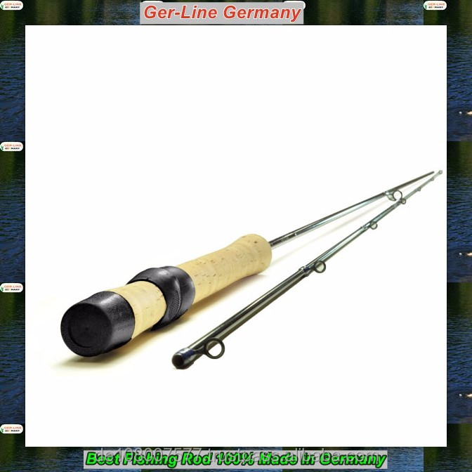 2.85m section 2 GL-R-Spinning-IM-96 Carbon fiber Spinning fishing rod best quality handmade in Germany