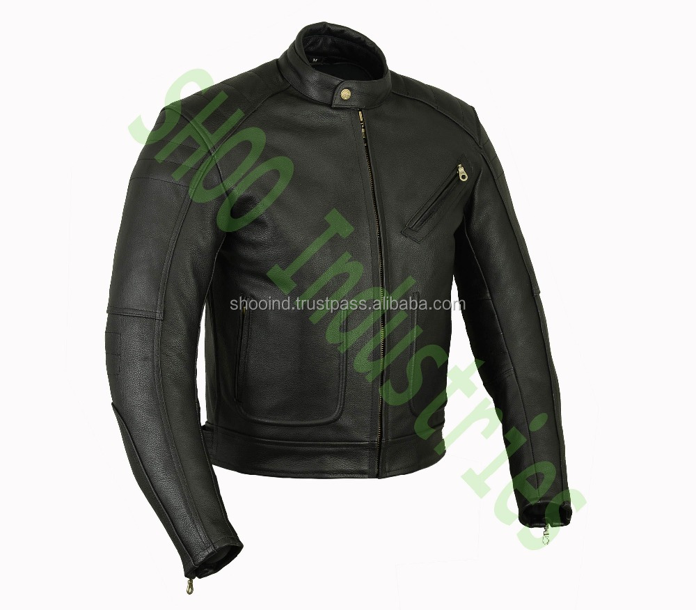 Leather Motorcycle Jacket-RACING MOTORBIKE COWHIDE LEATHER Jacket(Super Deals)