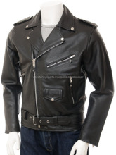 Mens Biker Perfecto Leather Jacket