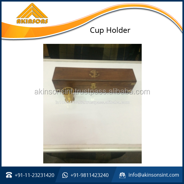 Premium Quality Wooden Cup Holder for Wine Cups