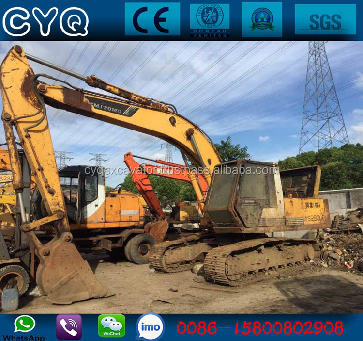 Japan original used excavator Sumitomo SH280F2 hydraulic digger for sale (whatsapp: 0086-15800802908)