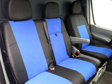 QUALITY TAILORED FABRIC SEAT COVERS SET NEW FOR MERCEDES DODGE SPRINTER 2006-2016