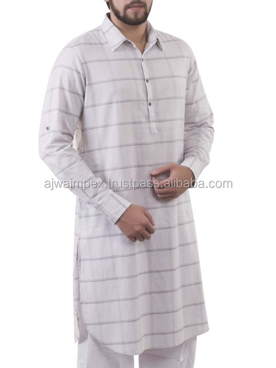 new design with line stylish shalwar kameez for men-s