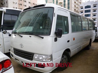 Used LHD Toyota Coaster bus 30 2010