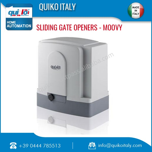 Italian High Efficiency Sliding Gate Opener Made in Italy