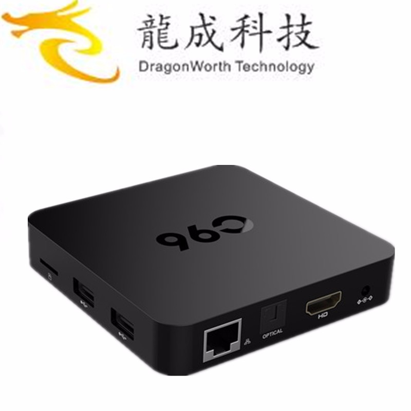 tv box receiver new Model C96 Amlogic S905 Android 6.0 Marshmallow Android TV BOX Custom Logo