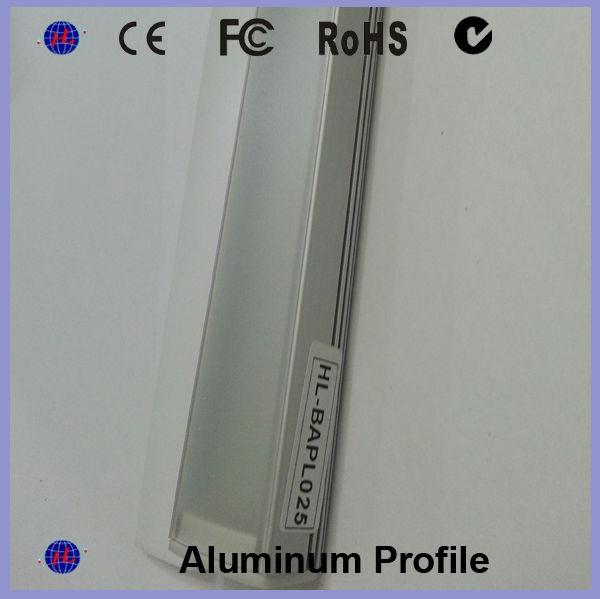 Aliexpress Com Buy 50cm Aluminum Led Smd3014 Chip Under: Led Aluminium Led Profile Extrusion With Diffuser Pmma For