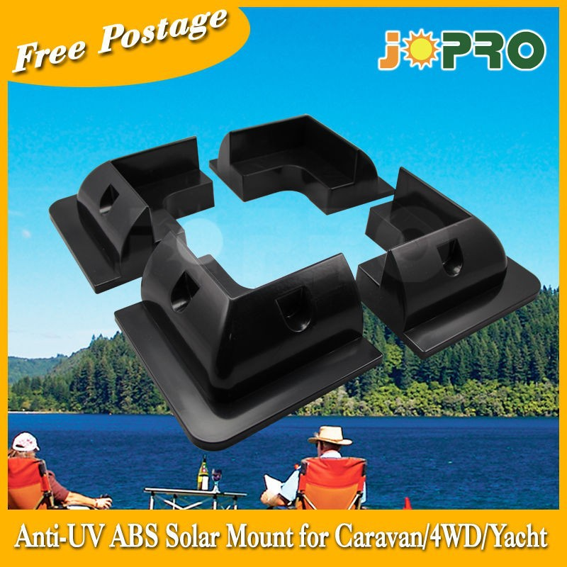 AU Stock Anti UV Corner Bracket Mount Solar Panel Caravan Boat RV- 4 for 1set