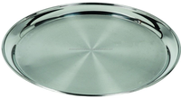 Stainless Steel Round Food Tray Plate/ Serving Trays