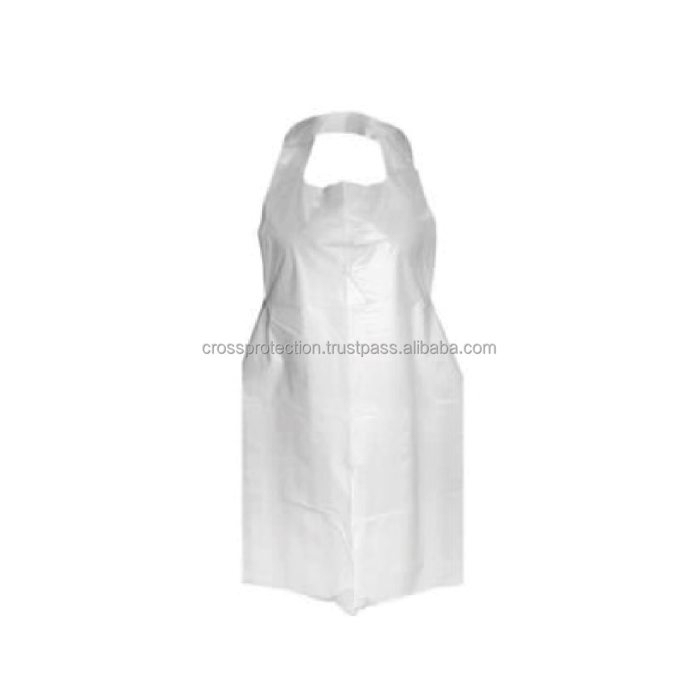 High Density Polyethylene Medical Disposable Plastic Apron