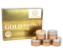 Khadi Natural Herbal Gold Mini Facial Kit