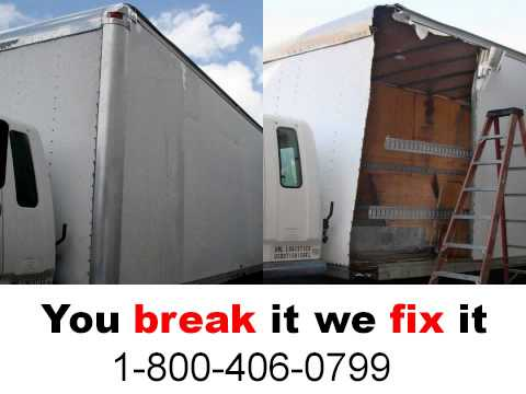 11507 Albertson 1-800-406-0799 box truck,cargo truck,semi trailer,container repair fix re-condition