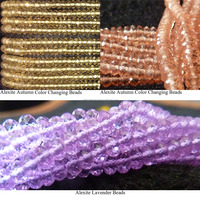 Alexite lavender Beads Aaa 4A 5A Grade All Grade High Quality Beads Manufacturer