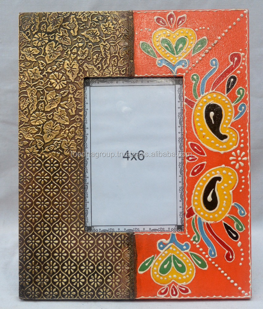 Indian Handicraft Wooden Photo Frame
