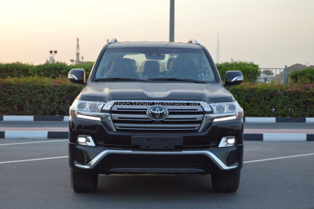 Tax free cars export from Dubai 2017 Model Toyota Land Cruiser 200 VXS 5.7L Automatic