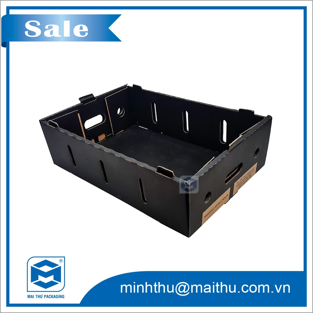 carton tray for fruit packaging: cherry tomatoes