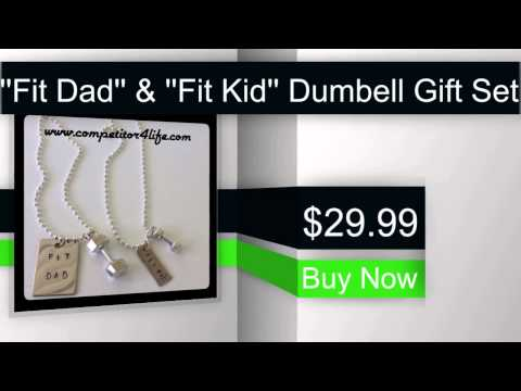 ''Fit Dad'' & ''Fit Kid'' Dumbell Gift Set