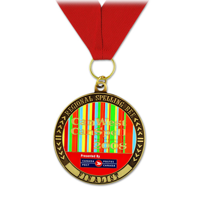 SGS OEM Running Award Metal Medal With CPSIA Quality