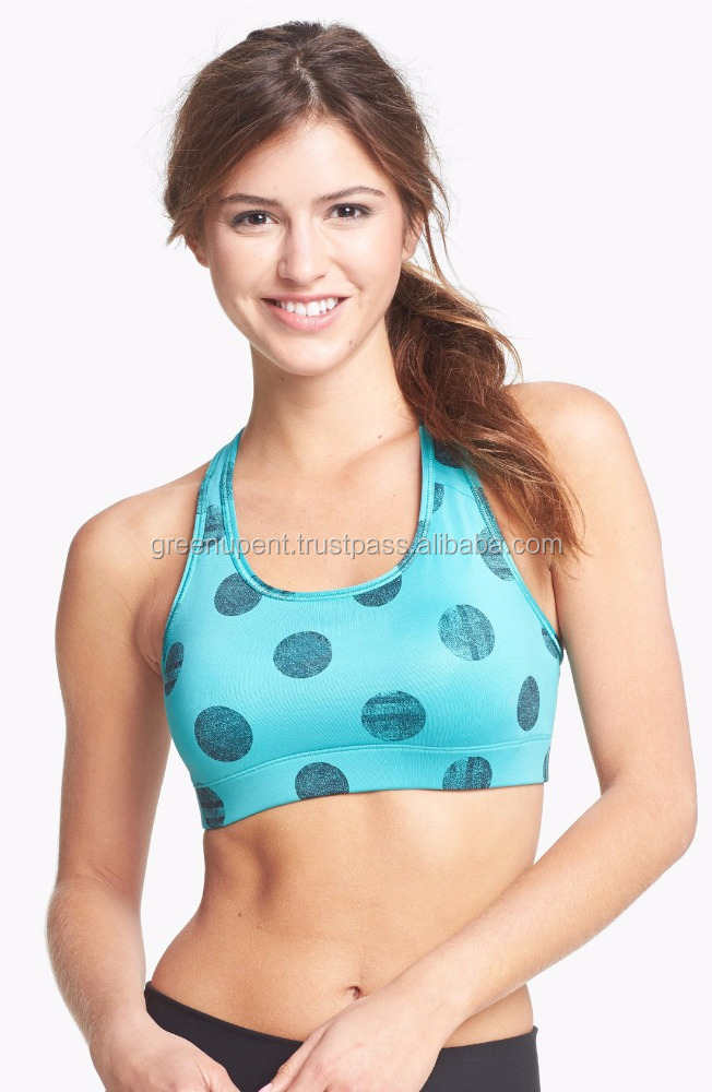 BELLA FOXY gym fitness RACER BACK TOP active wear top sports bra