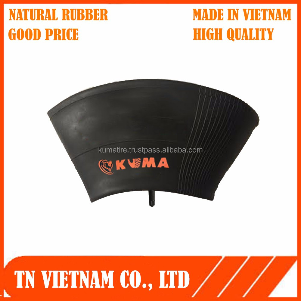 inner tube natural rubber vietnam 3.50/4.00 -8 with low price