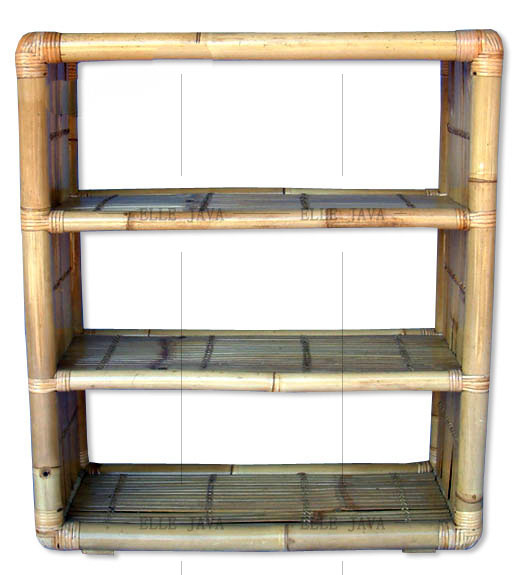 Large Bamboo Racking with 4 Layers Home Furniture