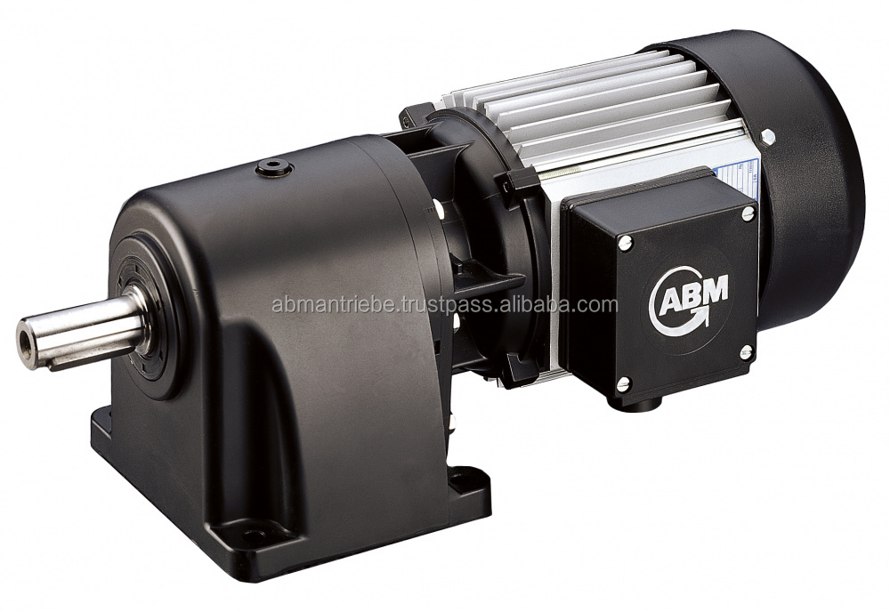 Helical Shaft Gearboxes; 1-, 2- and 3-stage execution; Torque up to 2,060Nm; corrosion resistant aluminium housing