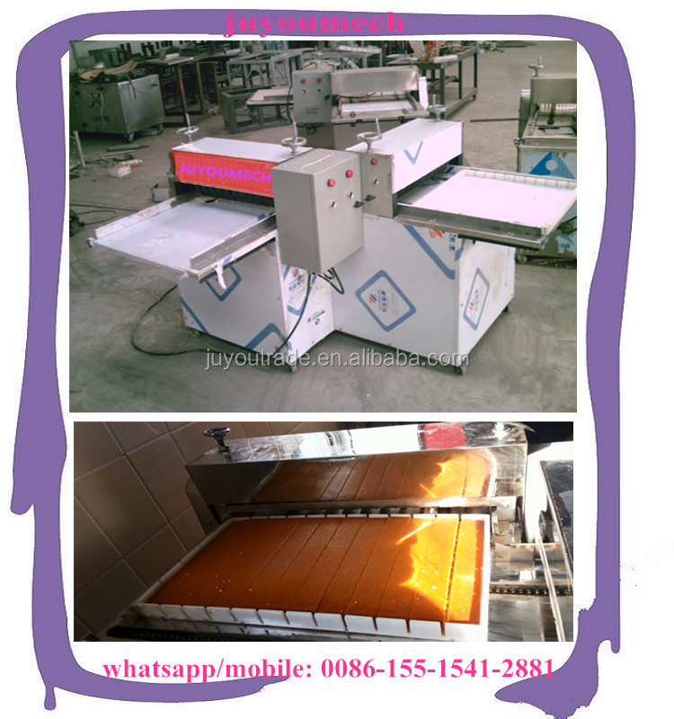 Small capacity cut cake/candy/cereal bar,Candy Application and New Condition granola bars making machine