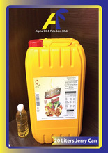 Malaysian Rbd Palm Olein cp10 (20 Lt Jerry can)