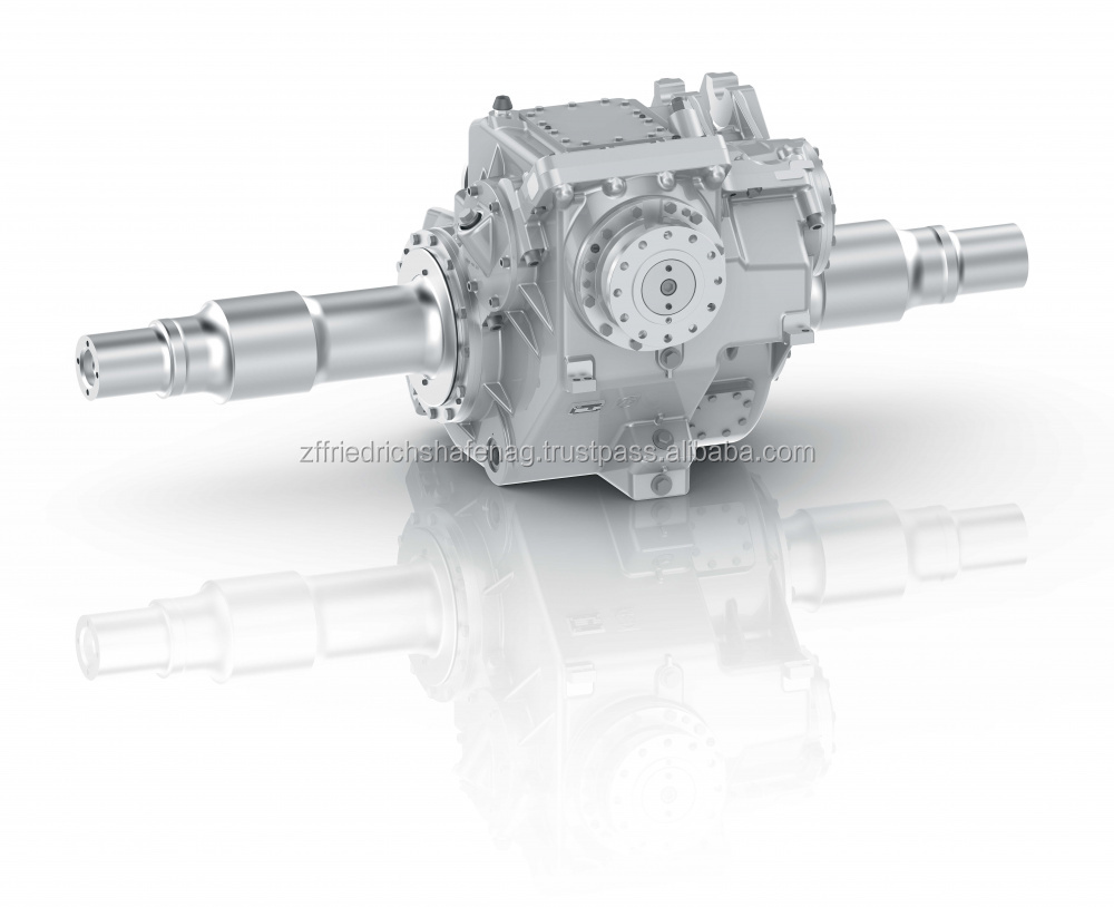 Technological innovation and the modular design define the concept for the robust ZF axle drive.