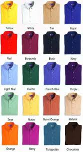 100% Cotton formal business shirt for men