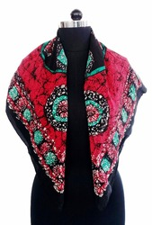 Lovely Pure Crepe Printed Scarf For Women
