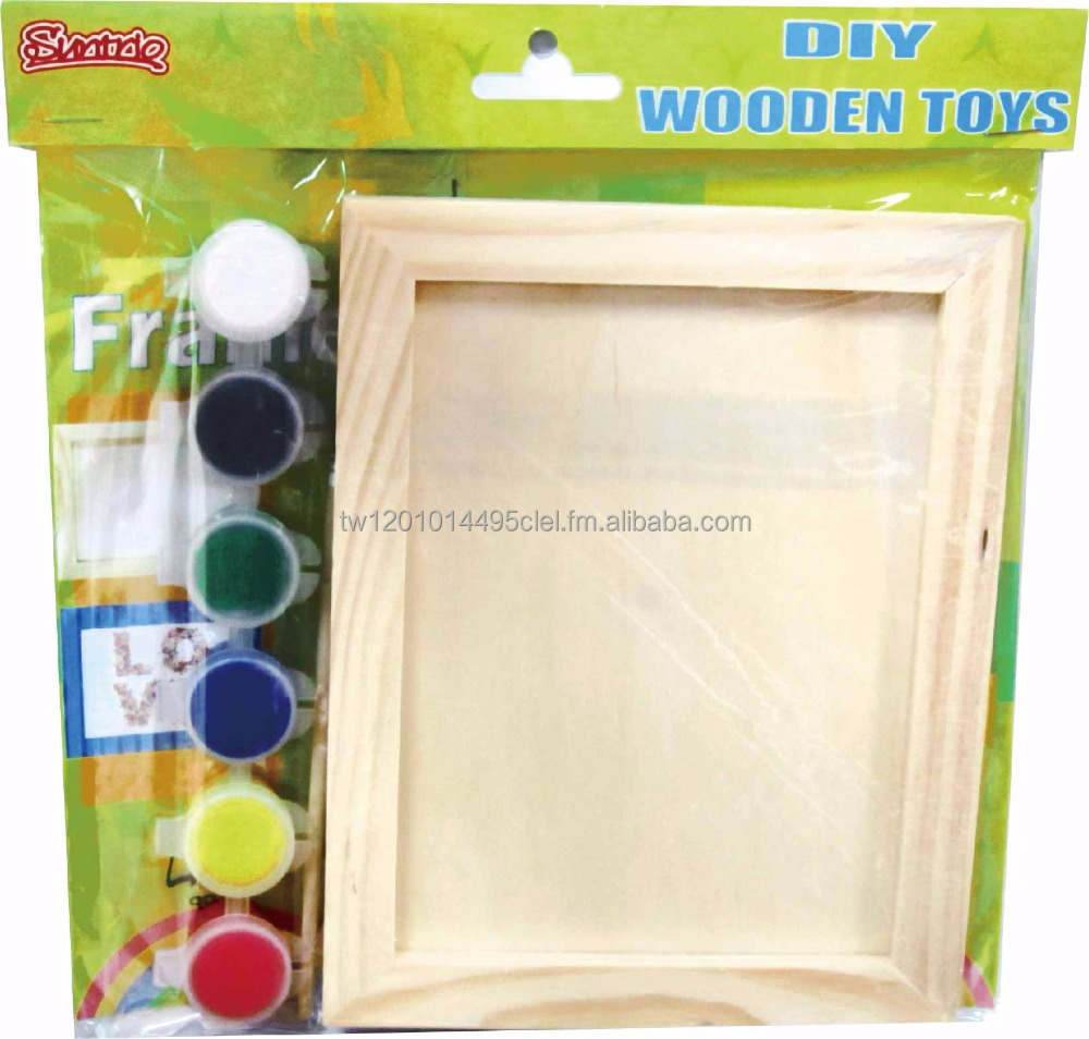 Diy Wooden Crafts SET