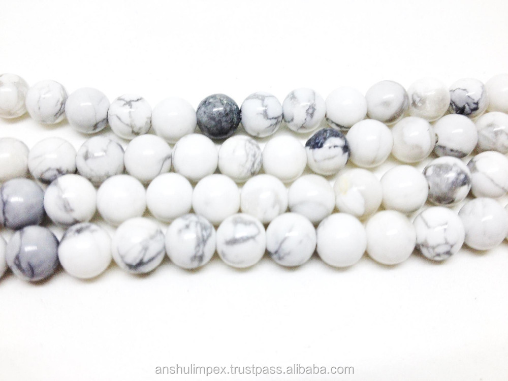 Wholesale Malas: Howlite Natural 6mm Jap Mala, mala beads necklace, rosary, wholesale lot